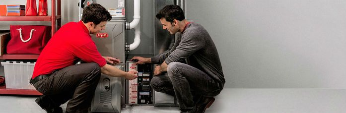 Furnace Installation and Boiler repair appointment with technician